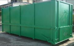 Container Abroll pentru presa stationara