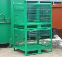 Container stivuibil din sarma