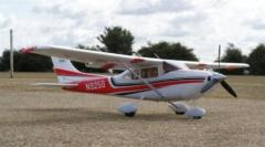 Aeromodel avion Cessna 182 (1300 mm)