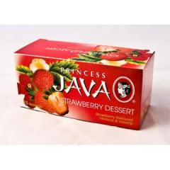 Ceai Princess Java Strawberry Dessert