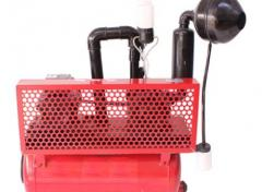 High-ash pumps and the equipment