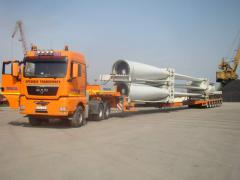 Equipment for trailers