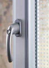 Doors made of aluminiun profile