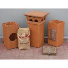 Cosuri de fum ceramice si capace de cosuri de fum