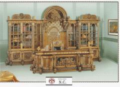 Cabinet NC - lemn masiv, full office