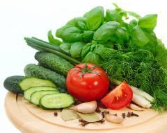 Productie proprie de legume