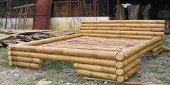 Pat dormitor bambus