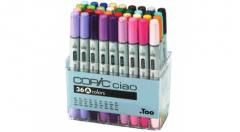 Set marker Copic CIAO - 36 culori A