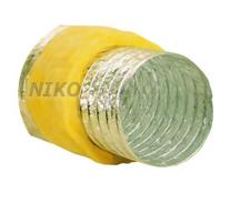 Tuburi flexibile din aluminiu izolate cu vata minerala