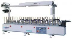 Instalatie de impachetat GDWM 300 pentru aplicarea unui strat acoperitor din PVC si furnir