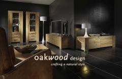 Furniture from a natural oak