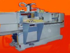 Masina Normala de Frezat cu ax fix masa mobila si circular pentru imbinare in dinti (finger joint) HARGHITA