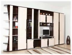 Cabinets with a showcase