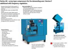 Compresor surub AIRCRAFT AS 15-8