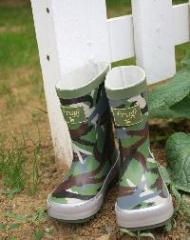 Les bottes   d'enfant