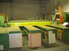 Plants for thinning wafers