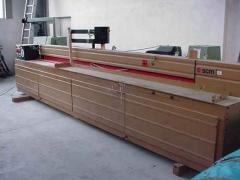 SCM Instalatie pentru impartire placi Z45
