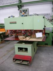 Machine tools for holing for door handle and