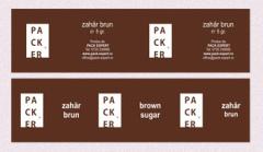 Zahar brun ambalat