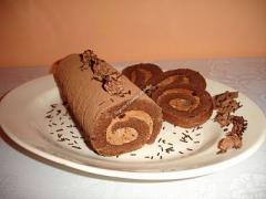 Rulada (cu ciocolata, cu caramel, cu jeleu) 70 g.