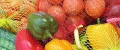 Vegetable mesh