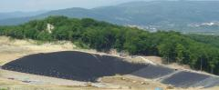 Geotextile for foundation