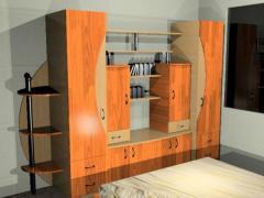 Biblioteca dormitor Conea 4