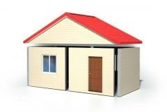 Houses made ​​of structural insulation boards