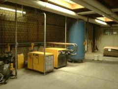 Equipment for the production of chairs