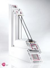 Tamplarie PVC Rehau Brillant-Design 70/80