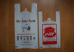 Sacks, packets, bags, plastic