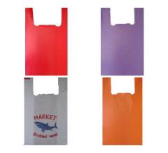 Sacks, packages, polyethylene bags