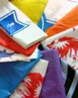 Sacks, packs, bags, polyamide (nylon plastic)