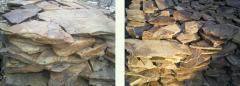 Stone in slabs