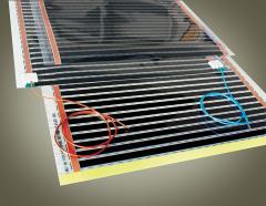 Ceiling generators of warm air