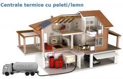 Centrale termice cu peleti/lemn
