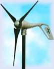 Wind-driven turbines for electrical stations