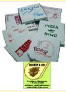 Cutii carton pizza - felii pizza.