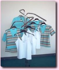 Women's striped vests