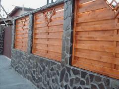 Garduri lemn