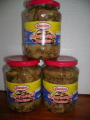 Ciuperci Pleurotus marinate