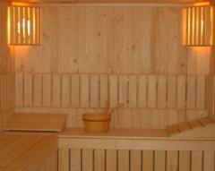 Sauna tip lambrisat