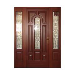 Oak entrance doors