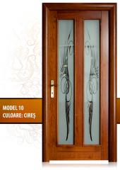 Doors made of natural wood