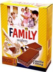 Napolitane vanilie Family