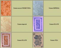 Facing glass tile