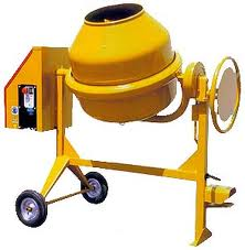 Concrete and mortar mixers
