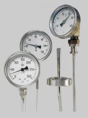 Termometre cu bimetal