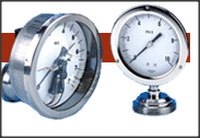 Gauges for water indication