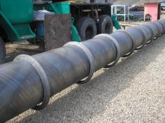 Double core barrels for geological survey boring